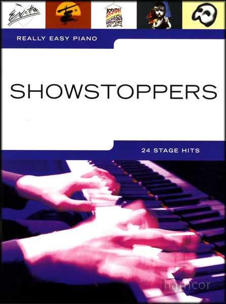 Really Easy Piano Showstoppers Sheet Music Book Enlarged Preview