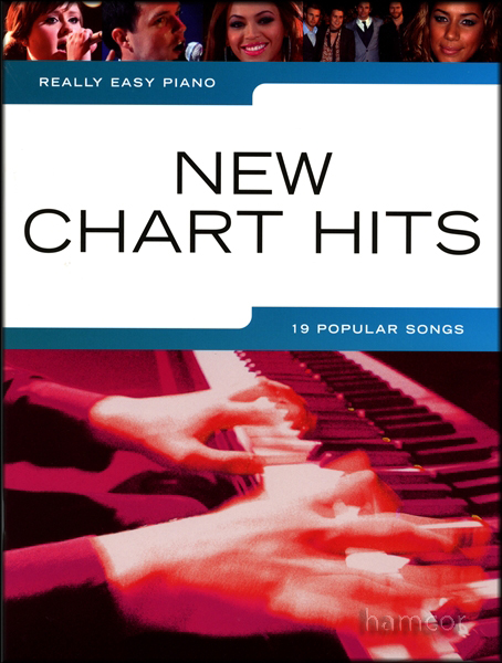 Really Easy Piano New Chart Hits Sheet Music Book Adele Take That Beyonce Enlarged Preview