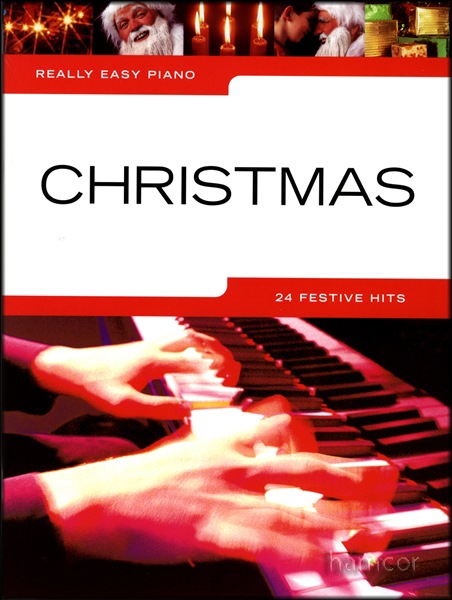 Really Easy Piano Christmas Sheet Music Book Elvis Pogues Wizzard Slade Mud Wham Enlarged Preview
