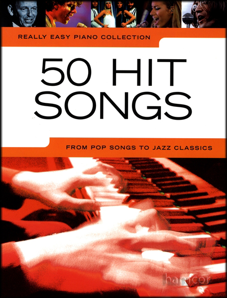 Really Easy Piano 50 Hit Songs Sheet Music Book Enlarged Preview