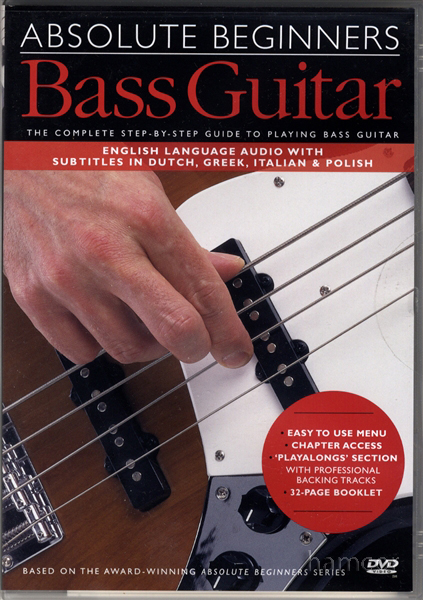 Learn bass guitar dvd