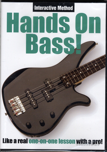 Hands On Bass Guitar Learn How to Play Tuition DVD Enlarged Preview
