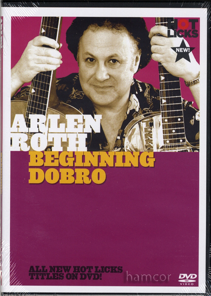 Arlen Roth Beginning Dobro Learn How to Play Guitar DVD Enlarged Preview