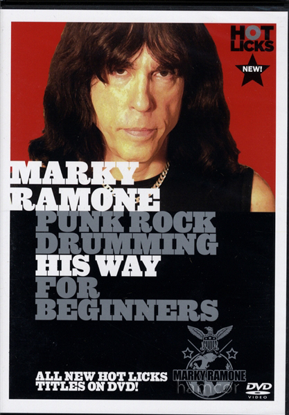 Marky Ramone Punk Rock Drumming Drum DVD Enlarged Preview