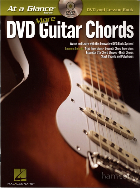 DVD More Guitar Chords at a Glance with TAB Lesson Book Enlarged Preview