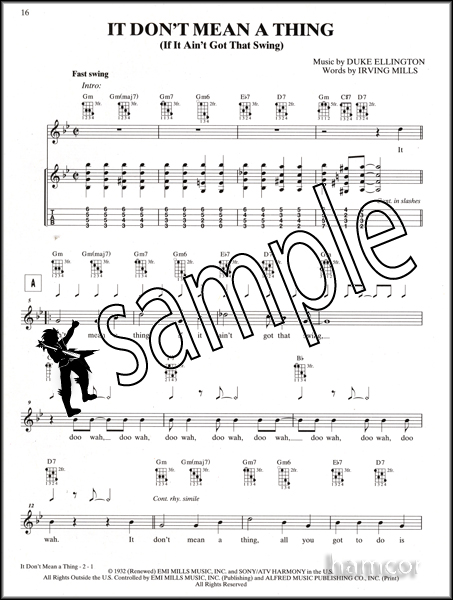 Just for Fun Swinginu0026#39; Jazz Ukulele TAB Chord Songbook