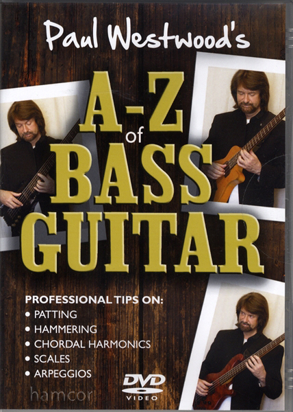Paul Westwood's A-Z Bass Guitar Tuition DVD Enlarged Preview