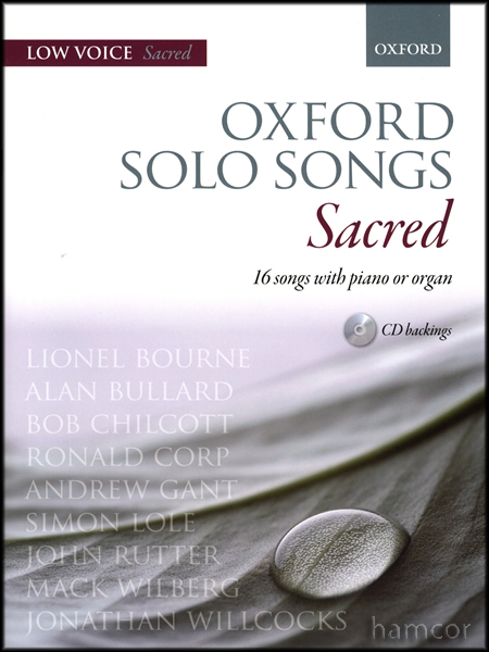 Oxford Solo Songs Sacred Low Voice Piano Organ Music Enlarged Preview