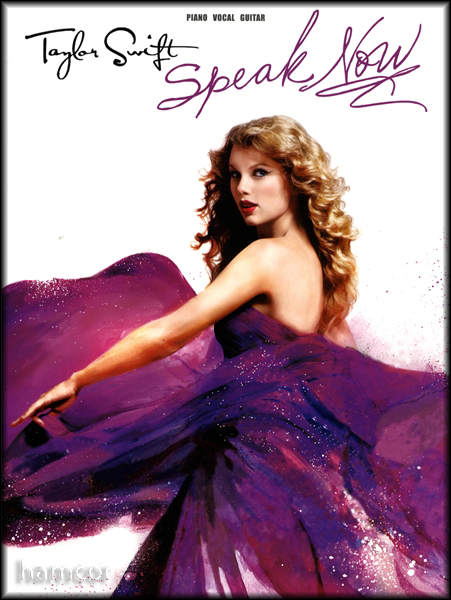 Taylor Swift Speak Now Piano Vocal Guitar Music Book Enlarged Preview
