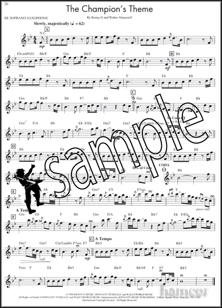 Kenny G The Moment Bb Soprano Sax Saxophone Sheet Music ...