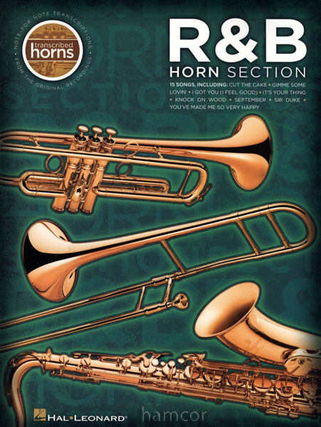 R&B Horn Section Music Score Trumpet Brass Sax Book Enlarged Preview