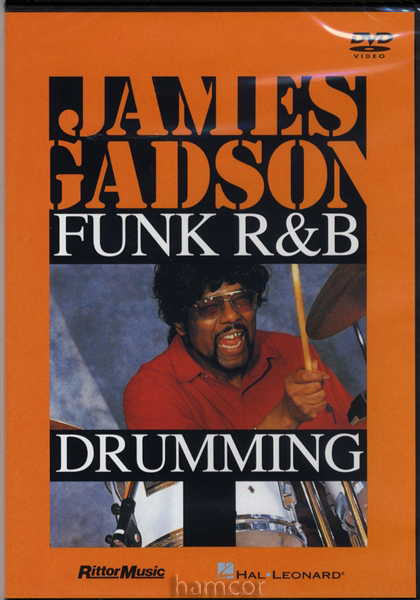 Funk R&B Drumming James Gadson Drum Tuition DVD Enlarged Preview