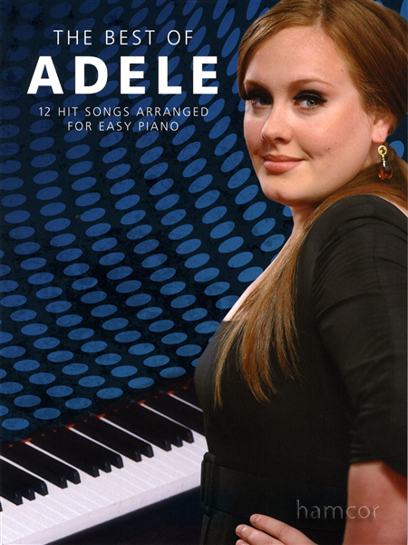 The Best of Adele for Easy Piano Sheet Music Book Greatest Hits from 19 21 Enlarged Preview