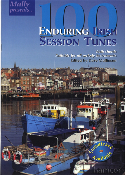 100 Enduring Irish Session Tunes Sheet Music Book & Chords Melody Instruments Enlarged Preview
