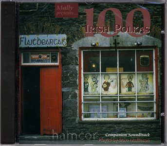 100 Irish Polkas CD Companion Soundtrack for Music Book Enlarged Preview
