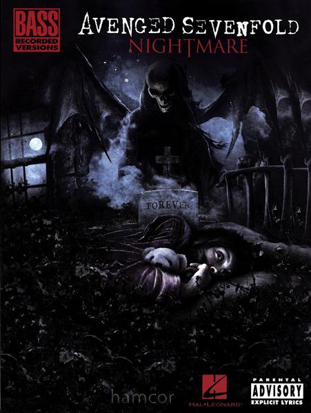 avenged sevenfold nightmare tab book