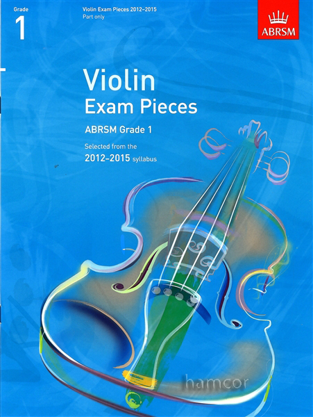 Violin Exam Pieces 2012-2015 Grade 1 Part Only ABRSM Enlarged Preview
