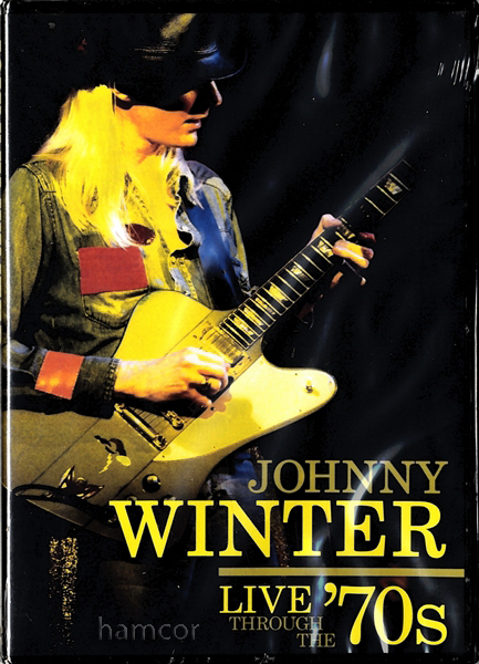 Johnny Winter Live Through the 70s Concert DVD Guitar Enlarged Preview