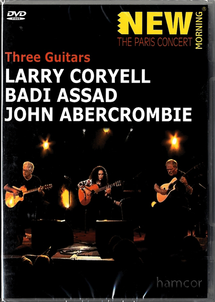 Three Guitars DVD Larry Coryell Assad John Abercrombie Enlarged Preview
