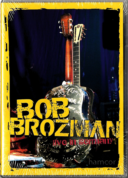 Bob Brozman Live in Germany Concert DVD Guitar Slide Enlarged Preview