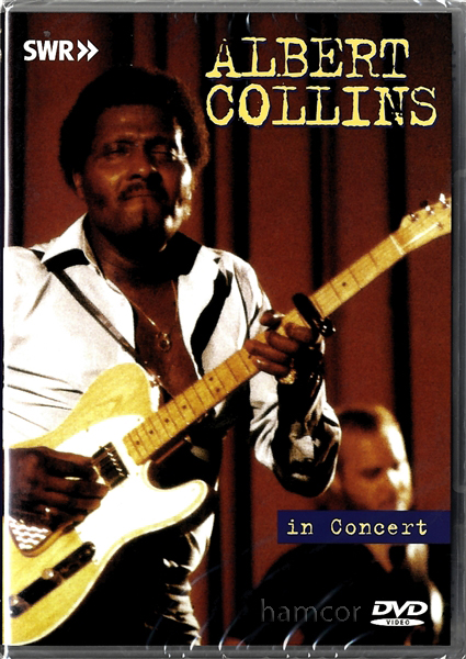 Albert Collins In Concert DVD Blues Guitar Enlarged Preview