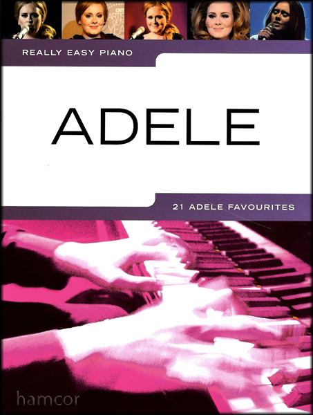 Really Easy Piano Adele Sheet Music Book Best of 19 21  Greatest Hits Learn Play Enlarged Preview
