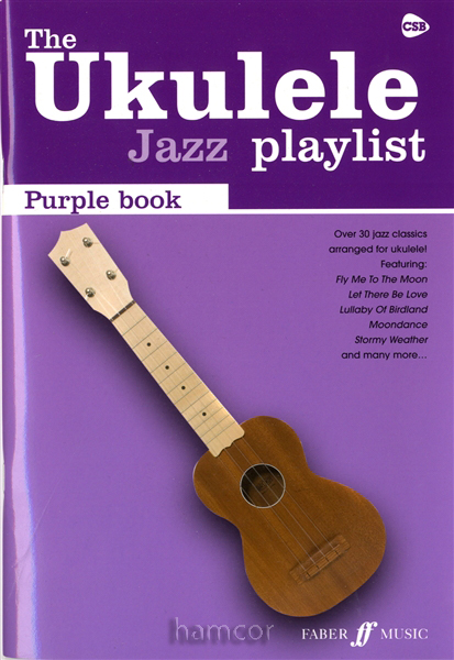 The Ukulele Jazz Playlist Purple Book Book 31 Classics Uke Chord Songbook Strum : eBay
