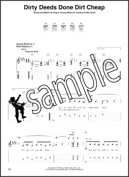 highway to hell bass tab pdf