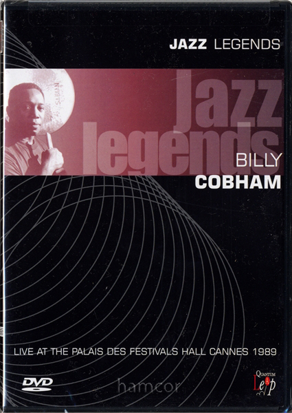 Billy Cobham Jazz Legends Live at Cannes 1989 DVD Drum Drummer NEW SEALED Enlarged Preview