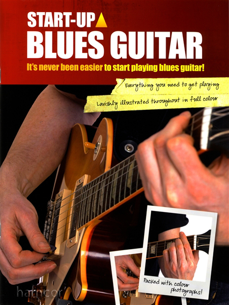 Start Up Blues Guitar Learn How to Play Tutor Method Teach Yourself TAB Book Enlarged Preview
