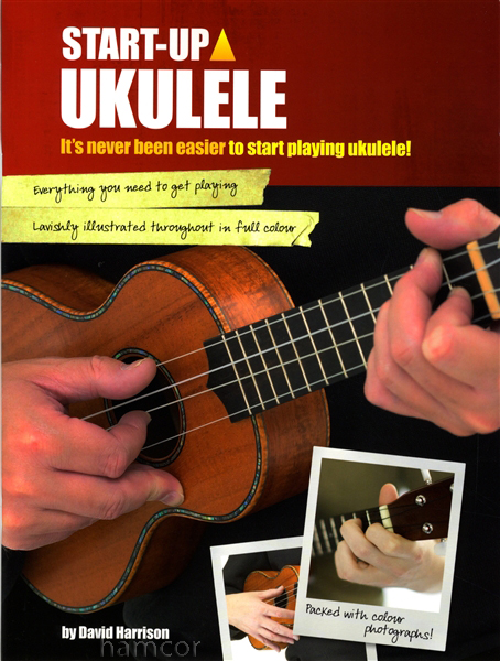 Start Up Ukulele Learn How to Play Tutor Method Teach Yourself TAB & Chord Book Enlarged Preview
