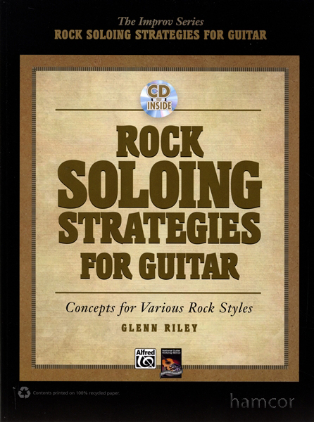 Rock Soloing Strategies for Guitar TAB Book & CD Southern Hard Progressive Heavy Enlarged Preview