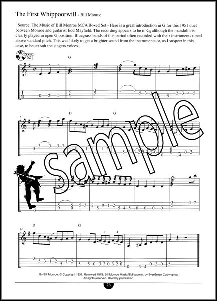 Mandolin u00bb Bill Monroe Mandolin Tabs - Music Sheets, Tablature, Chords and Lyrics