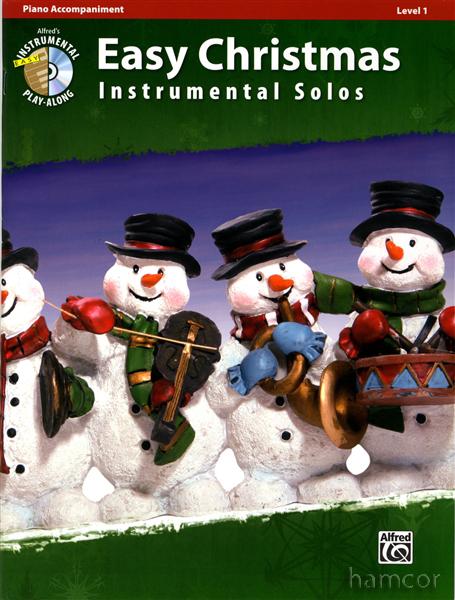 Hamcor mythical god of sheet music easy christmas instrumental