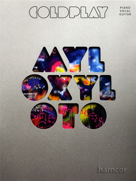 Coldplay Mylo Xyloto Piano Vocal Guitar Sheet Music Book Learn to Play Songbook Enlarged Preview