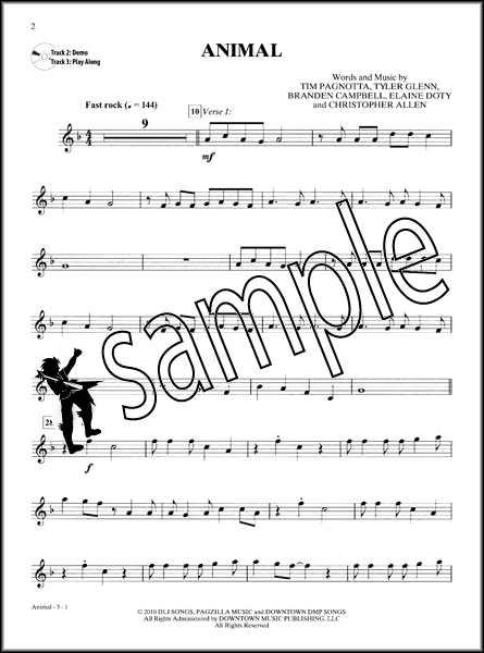 Trumpet Sheet Music Popular Songs - Imagez co