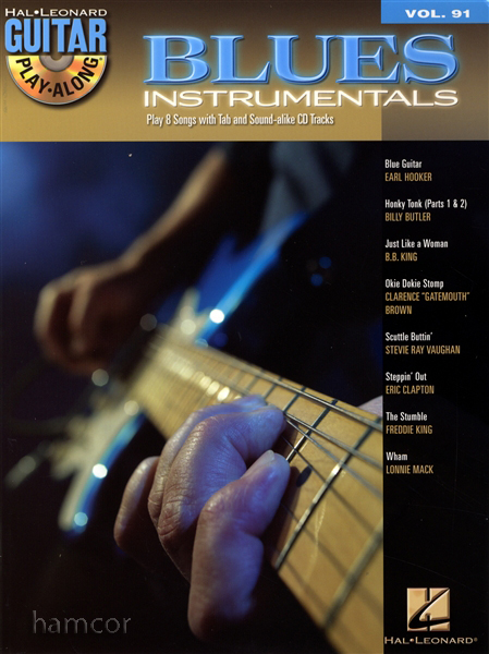 blues instrumentals guitar play along tab book cd bb king eric clapton freddie ebay. Black Bedroom Furniture Sets. Home Design Ideas
