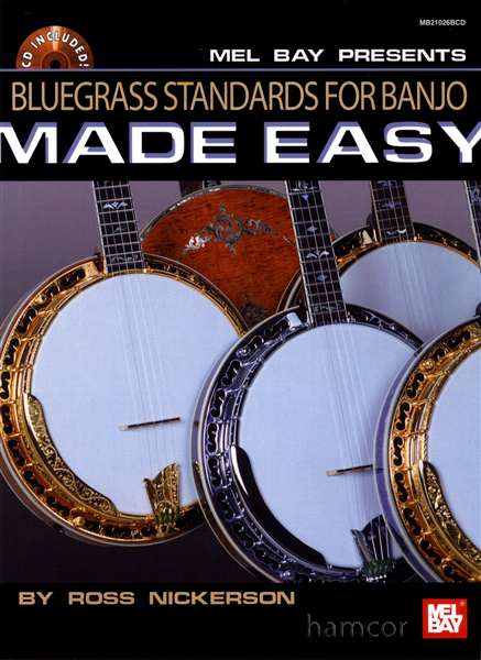 Bluegrass Standards for Banjo Made Easy 5-String Banjo TAB Book u0026 CD