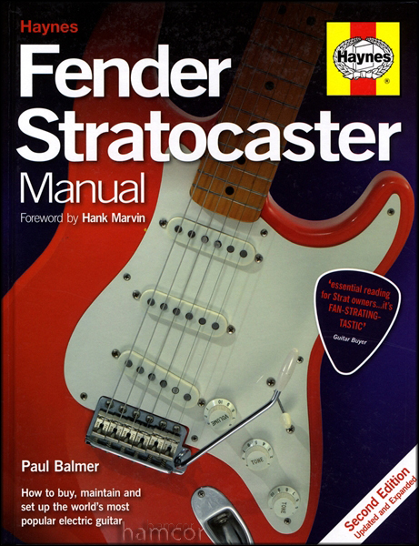 Haynes Fender Stratocaster Manual 2nd Edition Updated & Expanded Paul Balmer NEW Enlarged Preview