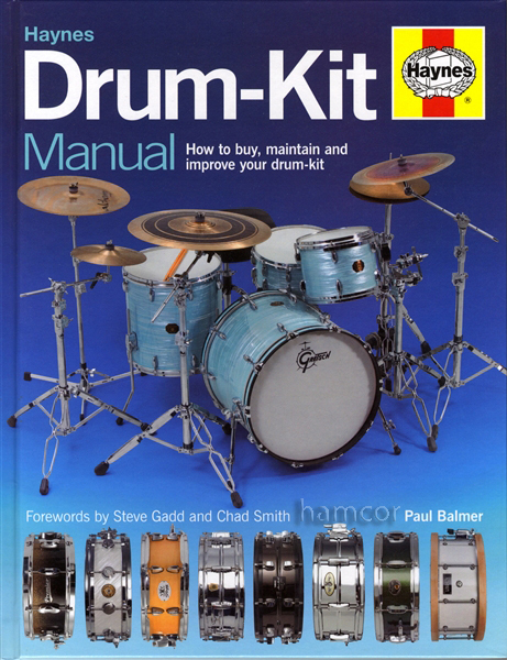 Haynes Drum-Kit Manual Learn How to Buy Maintain & Improve Drumkit HARDBACK Enlarged Preview