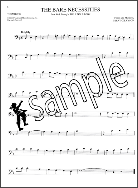 big book of disney songs trombone sheet music book 72 tunes instrumental folio ebay. Black Bedroom Furniture Sets. Home Design Ideas