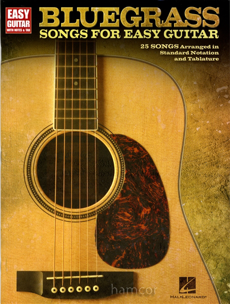 bluegrass songs for easy guitar tab sheet music book. Black Bedroom Furniture Sets. Home Design Ideas