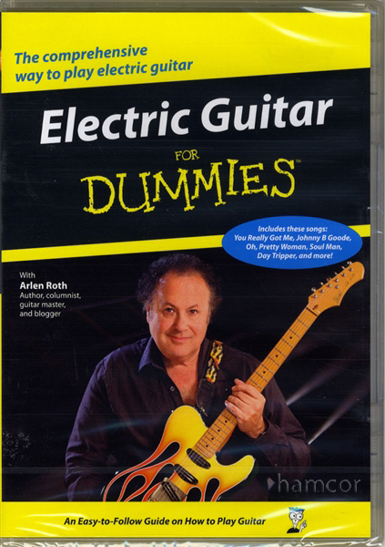electric guitar for dummies dvd learn how to play 30 beginner lessons arlen roth ebay. Black Bedroom Furniture Sets. Home Design Ideas