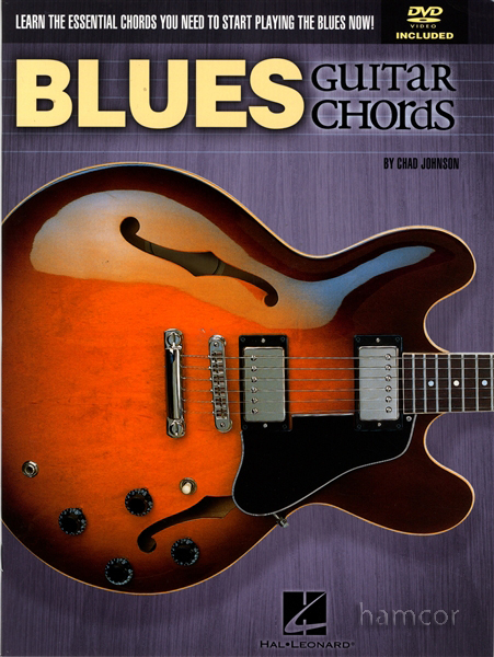 /Blues Guitar Chords Book/DVD : Hamcor