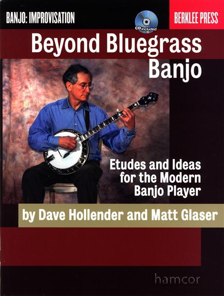 Beyond Bluegrass Banjo TAB Music Book/CD Etudes Ideas Improvisation