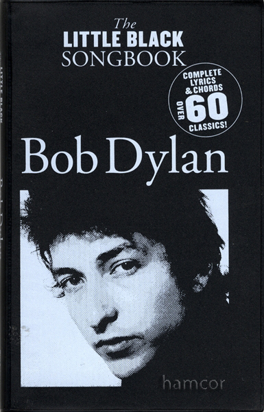 Bob Dylan The Little Black Songbook Guitar Chords & Lyrics Music Song Book Enlarged Preview