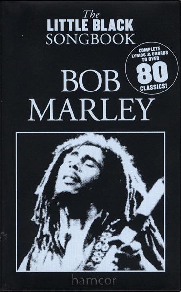 Bob Marley The Little Black Songbook Guitar Chords u0026 Lyrics Music Song Book : eBay