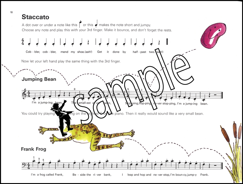 tunes for ten fingers a first piano book pdf