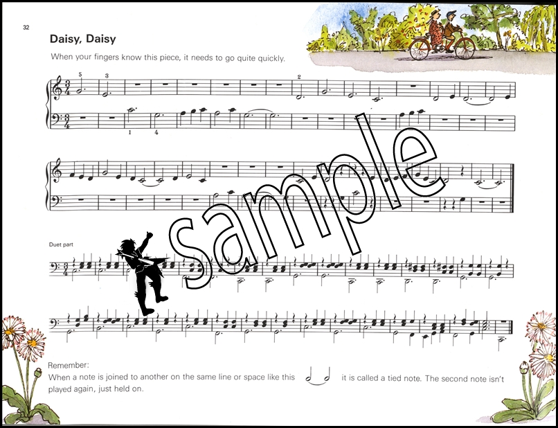 More Tunes for Ten Fingers Very Easy Piano Sheet Music