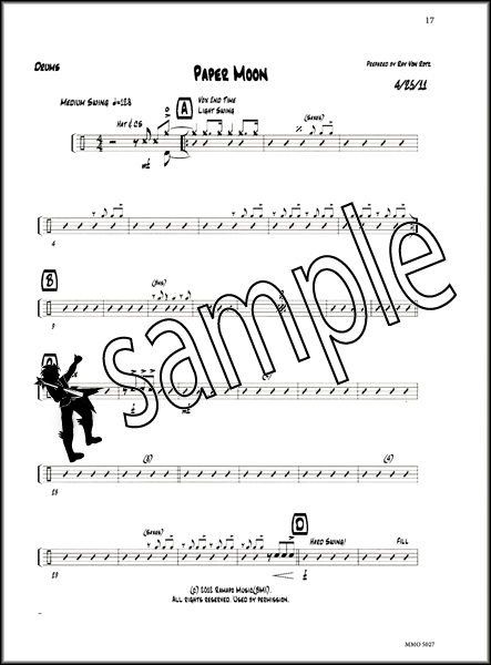how to write drum charts